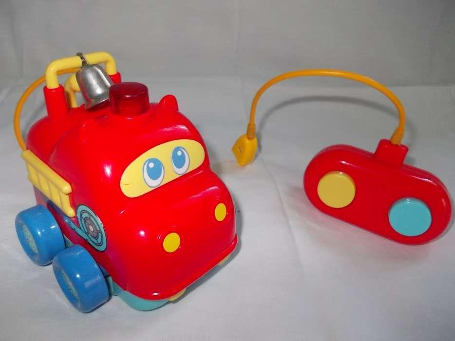 Prima mea masinuta de pompieri cu telecomanda - Tomy