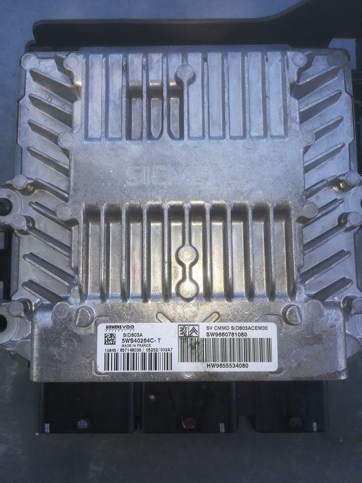 Calculator motor Peugeot 407 2.0 hdi an 2006