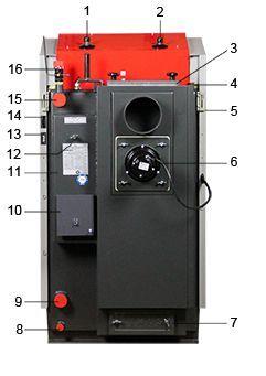 Ventilator cazan lemne Atmos de la 32 kW cu 3 ani garantie Brasov - imagine 4