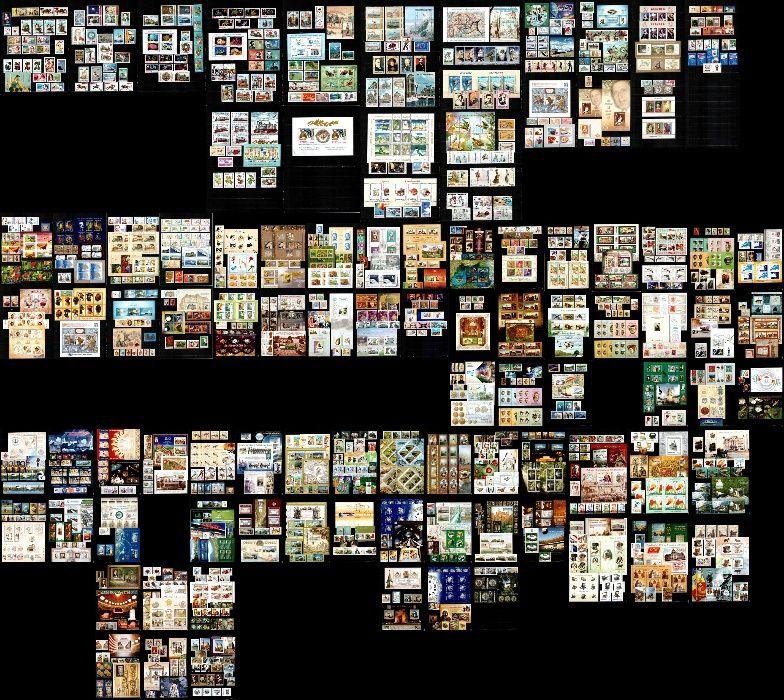 Timbre Romania 2001- 2013 COMPLET!!! 1101 timbre + 231 blocuri, MNH!!!