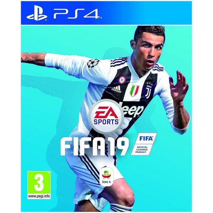 Jogo FIFA 19 para Ps4 na caixa selado