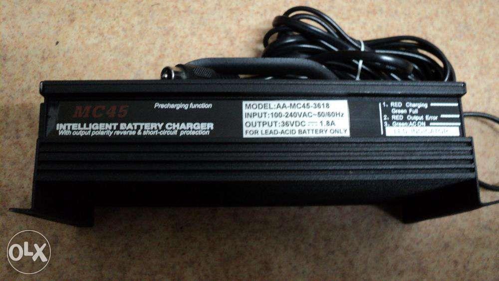 INCARCATOR-bicicleta electica baterie 36v