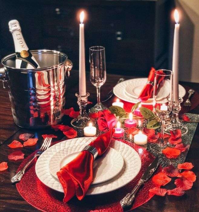 Jantar Romantico ao domicílio