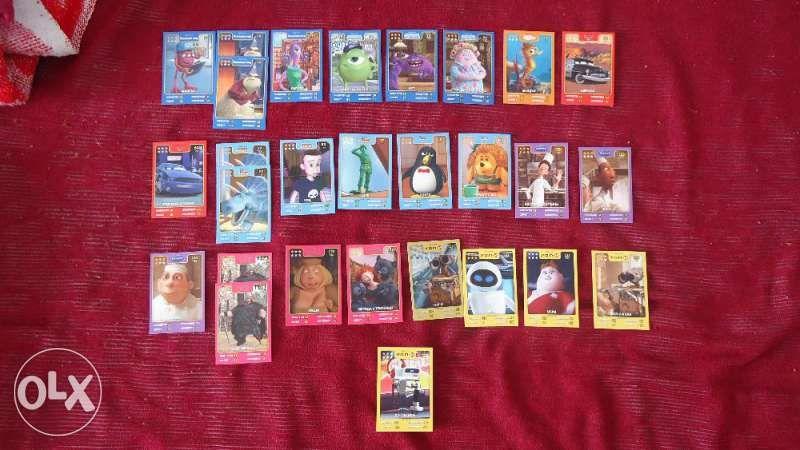 Продавам / Разменям картички от Дисни Пиксар /от Кауфланд/