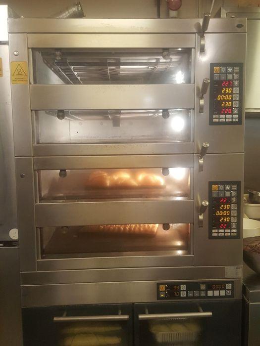 Cuptor patiserie paine cofetarie Miwe Condo pe vatra