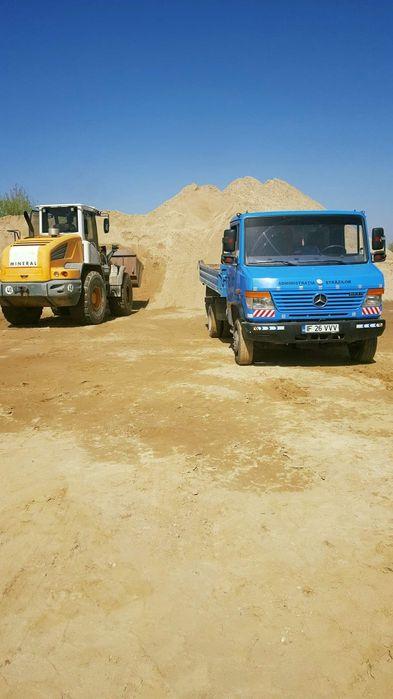 Livrari nisip pietris balast in cel mai scurt timp(transport gratis)
