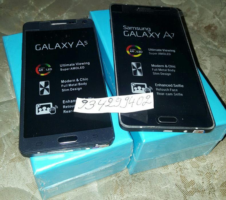 Galáxy A5 e A7 Original Dual Sim Cada Qual com seu preço
