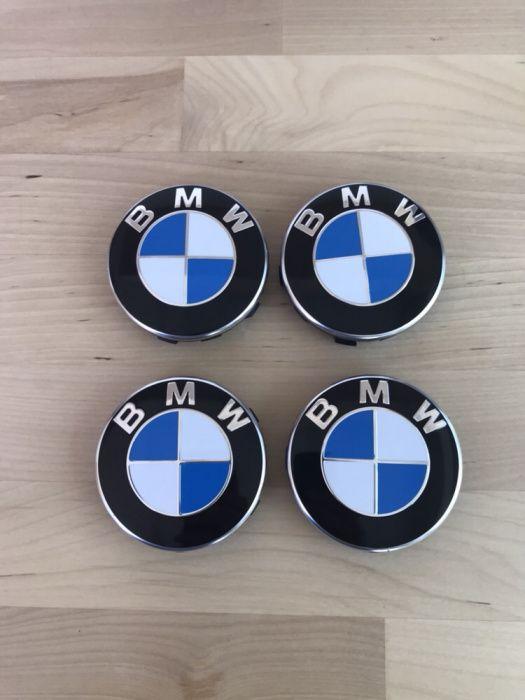Vand Set 4 Capace Originale Capacele Jante roti aliaj aluminiu BMW nou