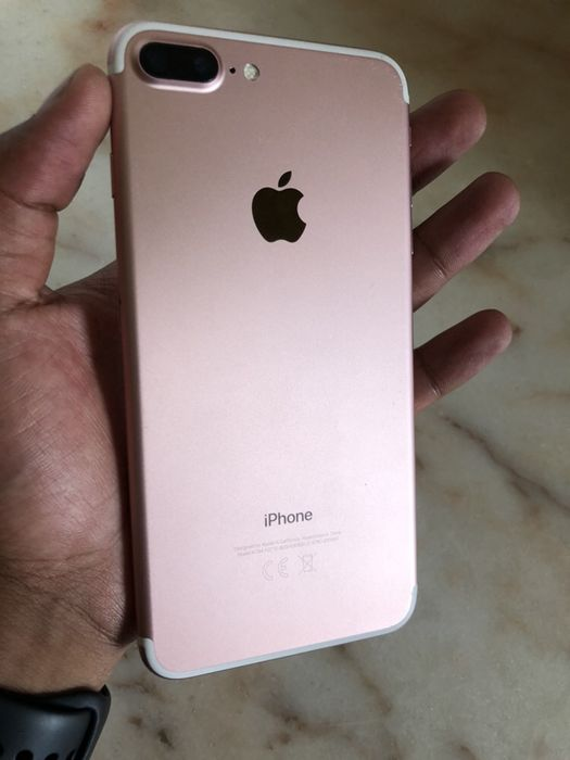 IPhone 7 Plus Rose Gold super novo com cabo