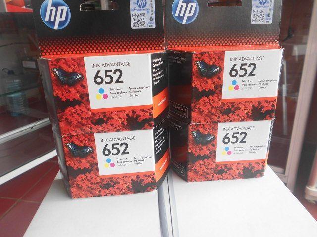 Tinteiros HP 652 tricolores