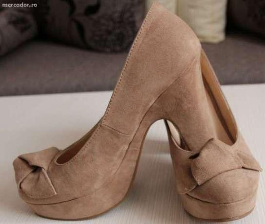 Pantofi dama cu platforma - Ieftini