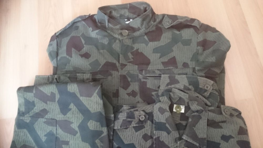 Камуфлажни шуба, панталон и риза