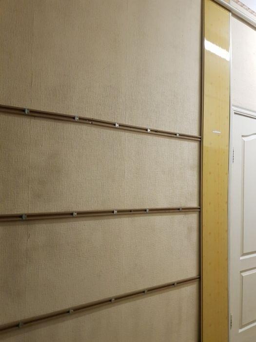 """Крепление """"обрещетка""""для панелей ПВХ на стены."""