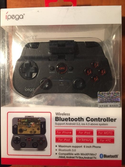Bluetooth Controller Ipega universal cu wireless,bluetooth nou nout