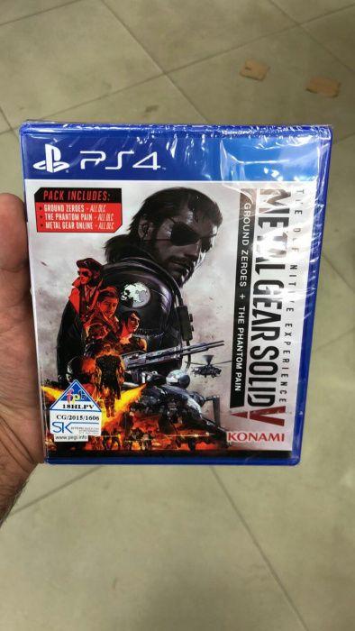 Ps4 Metal GearSold V jogos
