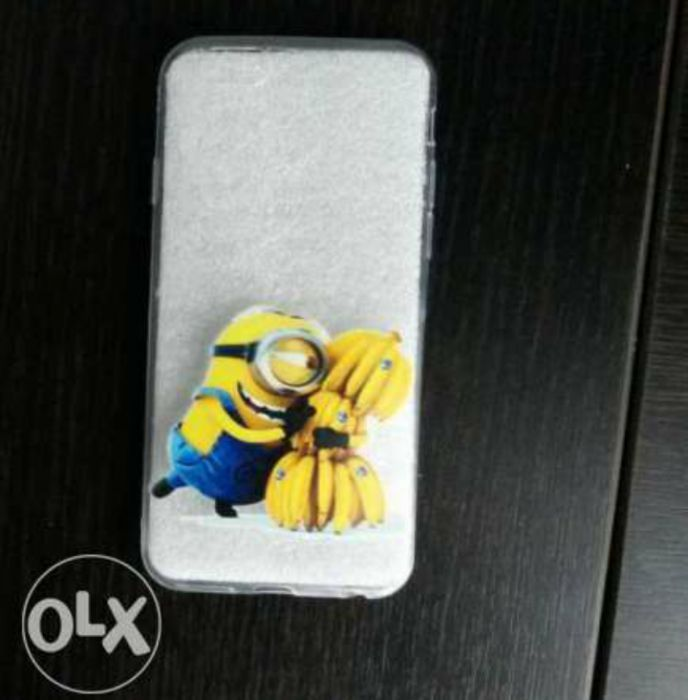 Husa caracasa silicon iphone 6 cu minioni minions despicable me