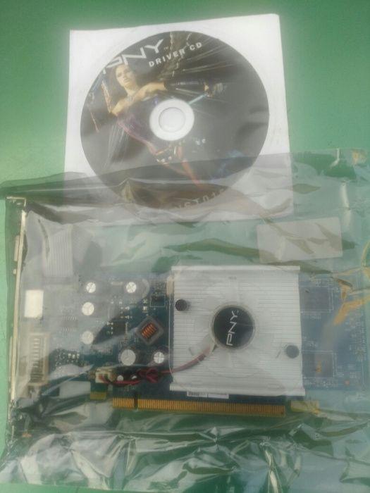 PLACA Gráfica PCI nova na Caixa com disco de Instalação
