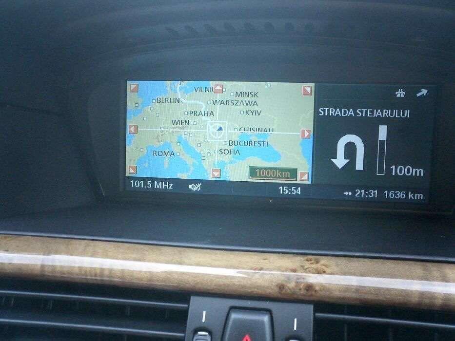 DVD Harta Navigatie BMW Professional RO E81 E87 E90 E60 E70 X5 X6 2018
