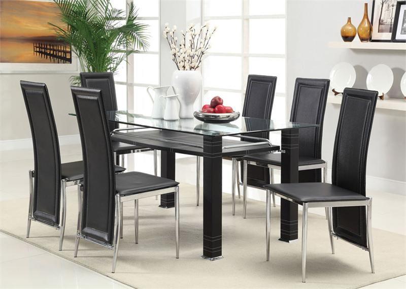 Mesa de jantar moderna 6 cadeiras