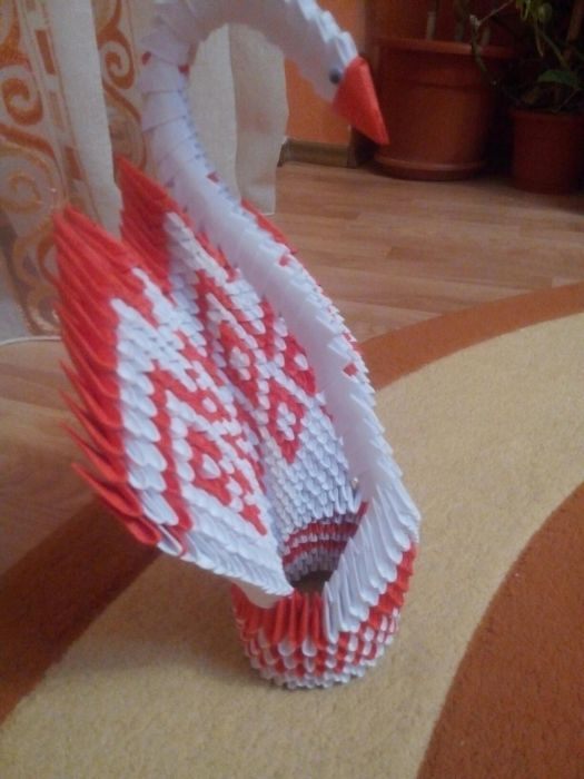 Lebada origami module 1000