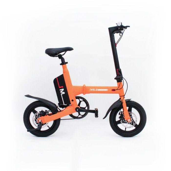Bicicleta electrica pliabila baterie LG LI-ion 7.8Ah 50km,bluetooth