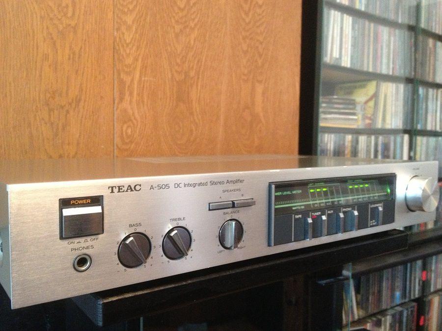 Amplificator Stereo marca TEAC A-505 - RAR/Vintage/Japan/Impecabil