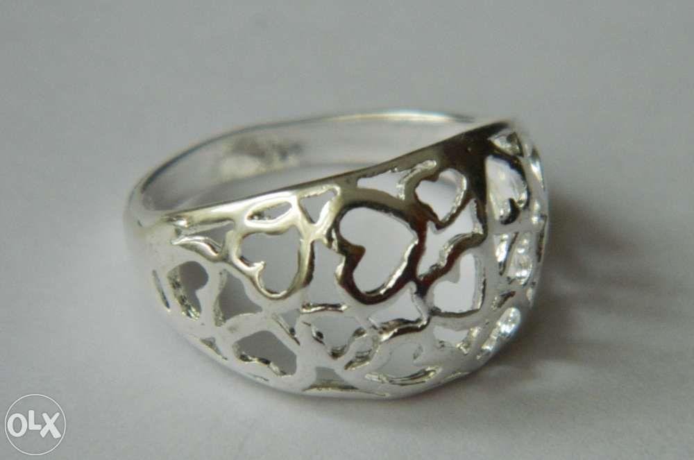 S62,inel argint 925, nou/marcat, masiv, deosebit