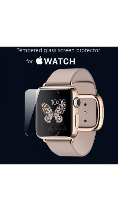 Folie sticla Apple Watch 38mm si 42mm FULL, 3 Modele