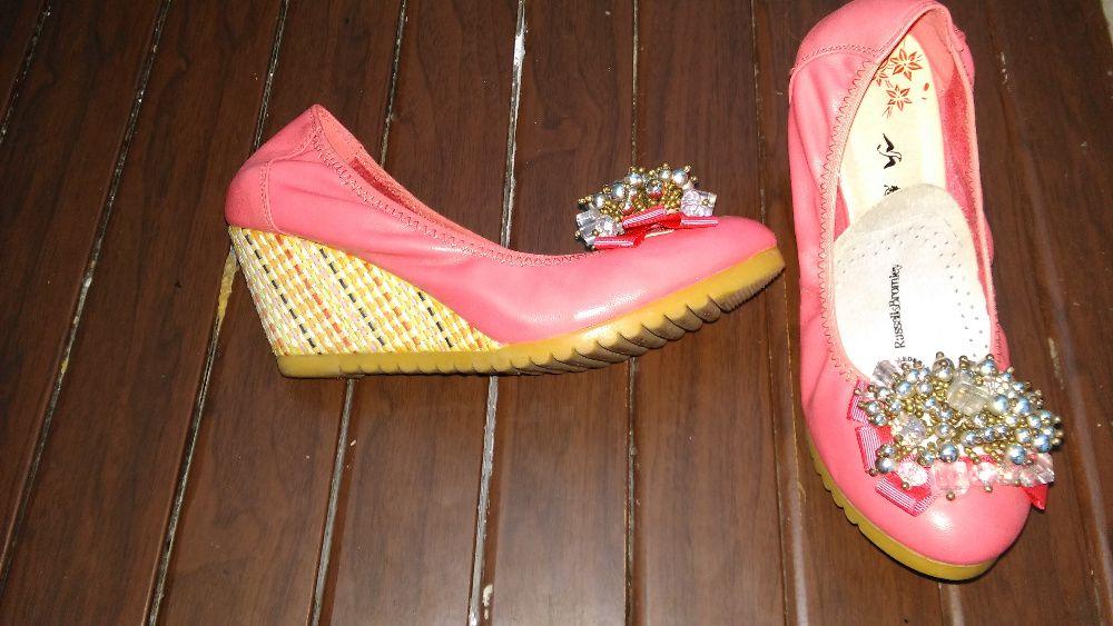 pantofi dama roz