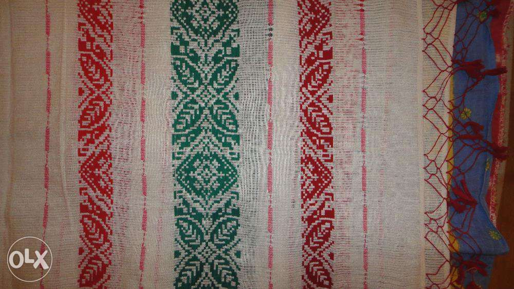 Prosop tesut traditional, in razboi, arta traditionala