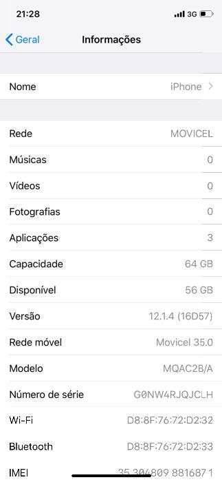 Vendo o meu IPhone X de 64 GB, tudo funcionando.