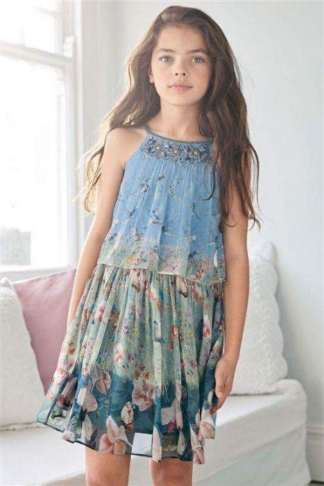 Set rochie si cardigan Next 9-10 ani