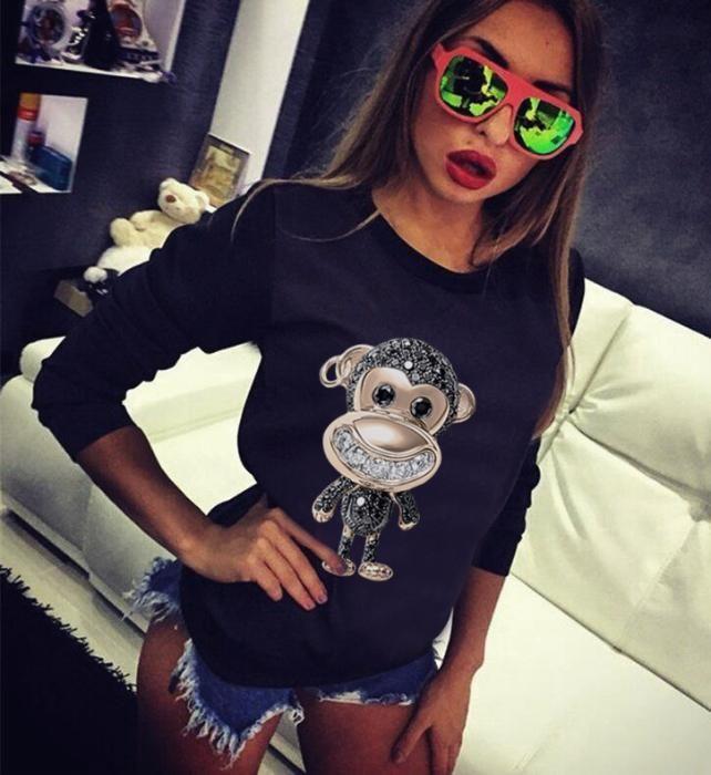 НОВО! Дамски тениски и блузи CRAZY ANIMAL! Или поръчай с твоя идея!