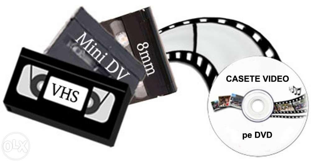 Copiez / transfer de pe casete video pe dvd