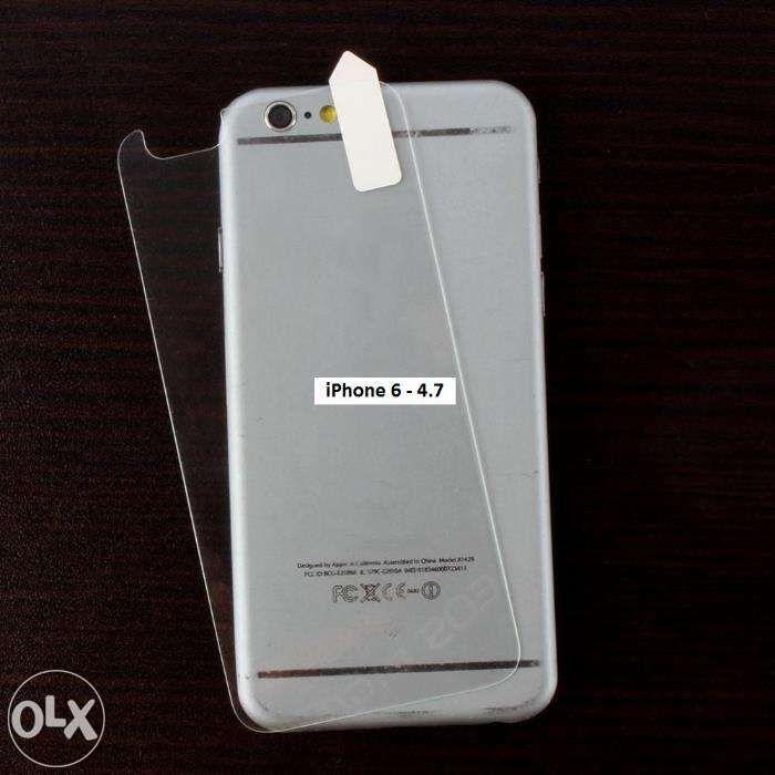 Folie sticla fata + spate Iphone 6,6S,7,8 PREMIUM inch Tempered Glass