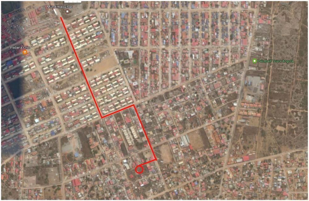 Terreno 15x25m, bairro Bita-Sapú (Junto o Ulengo Shopping)