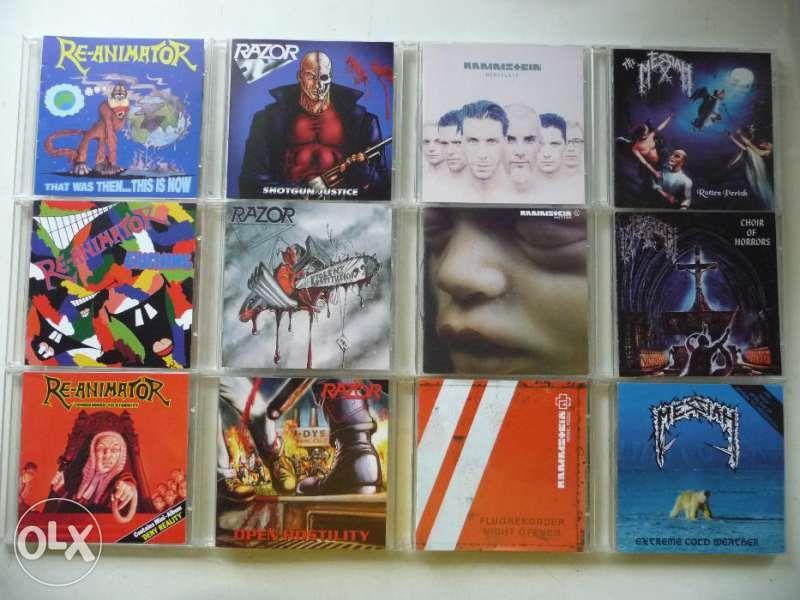 Компакт-дискове – лична Metal колекция