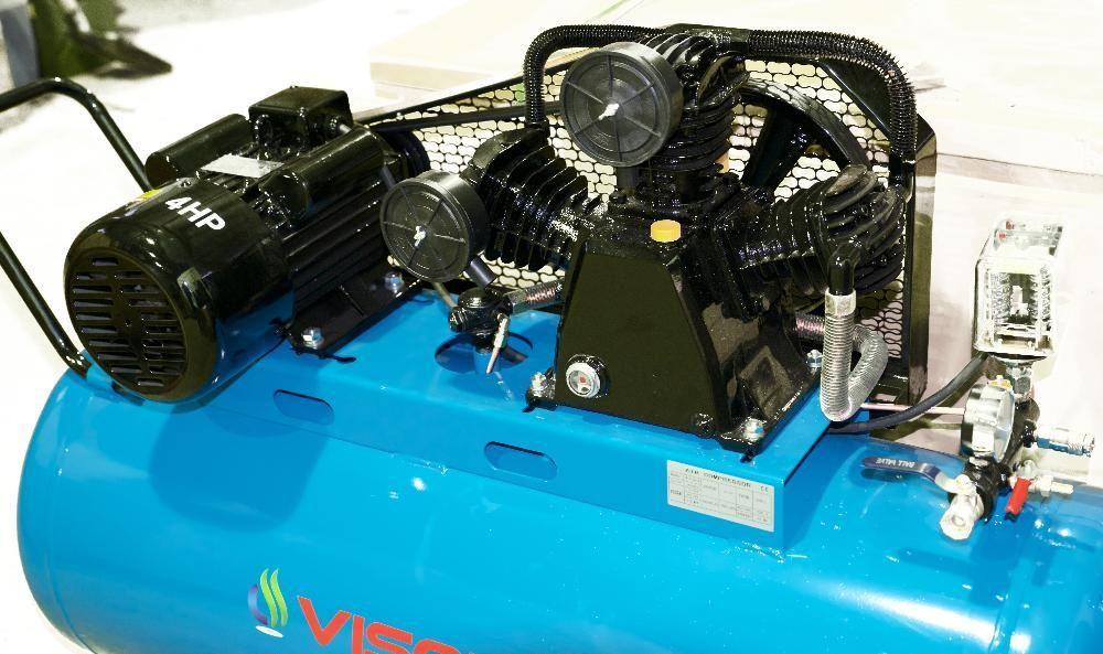 Compresor de aer 200L 10 bari Visoli 220V sau 380V Timisoara - imagine 2