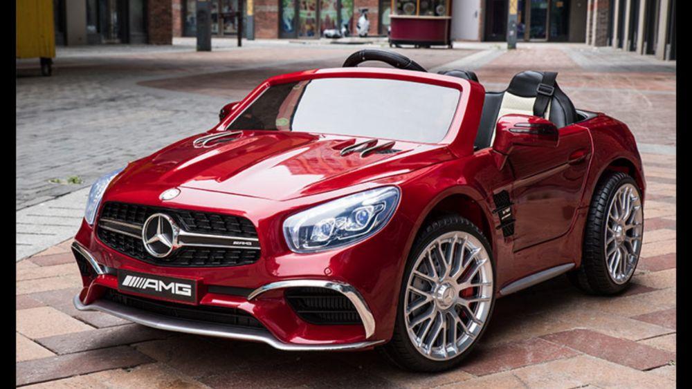 Акумулаторна кола Mercedes SL65 с MP4/дисплей12V с меки гуми гр. София - image 5
