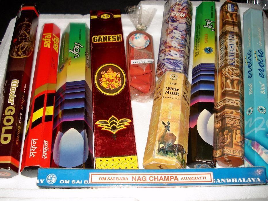 Индийски ароматни пръчици - JOY - incense sticks - аромати