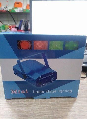 Laser disco cu senzor de sunet
