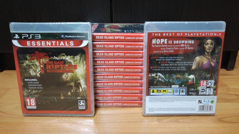 Dead Island Riptide Complete Edition PS3 PlayStation 3 (nou, sigilat)