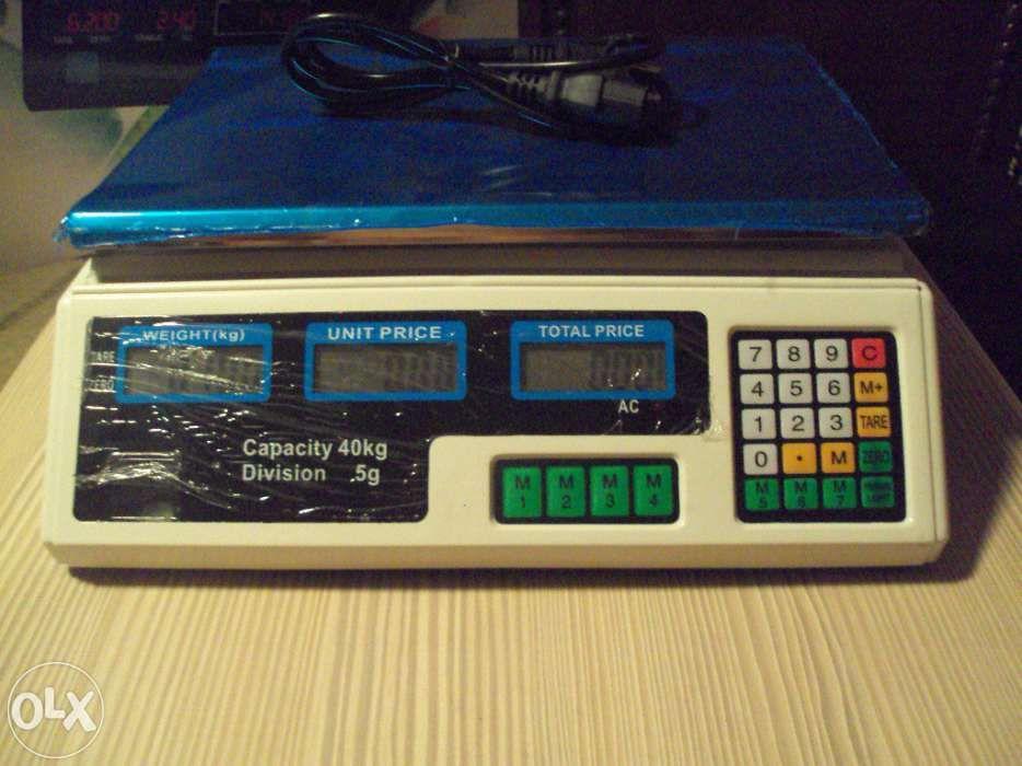 Cantar electronic cu platforma 40 kg. - 40kg