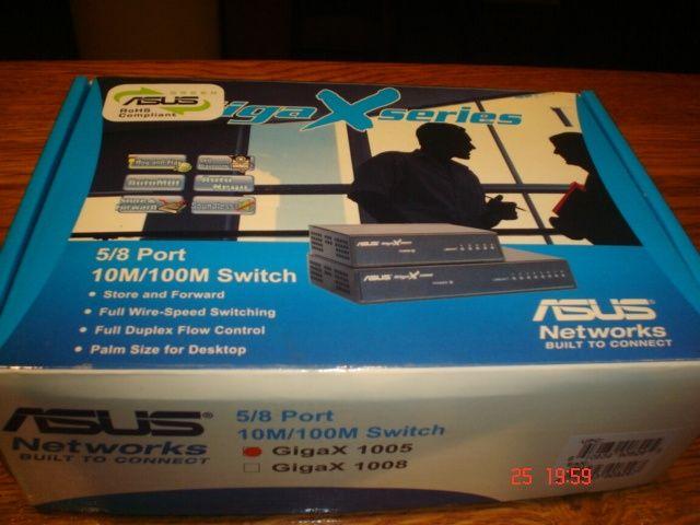 Switch ASUS Giga X 1005/G cu adaptor