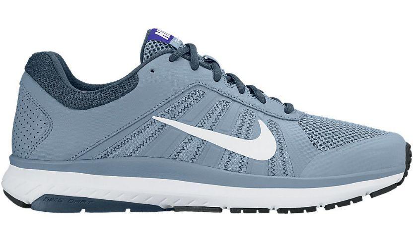 adidasi Nike Dart 12, Alb/Gri/Bleu, 44 -> NOU, SIGILAT