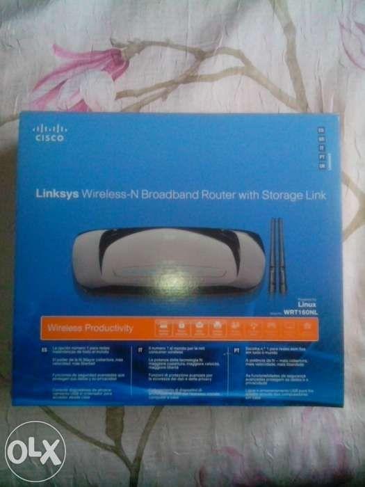 LINKSYS WRT160NL wireless-N router Storage link CISCO