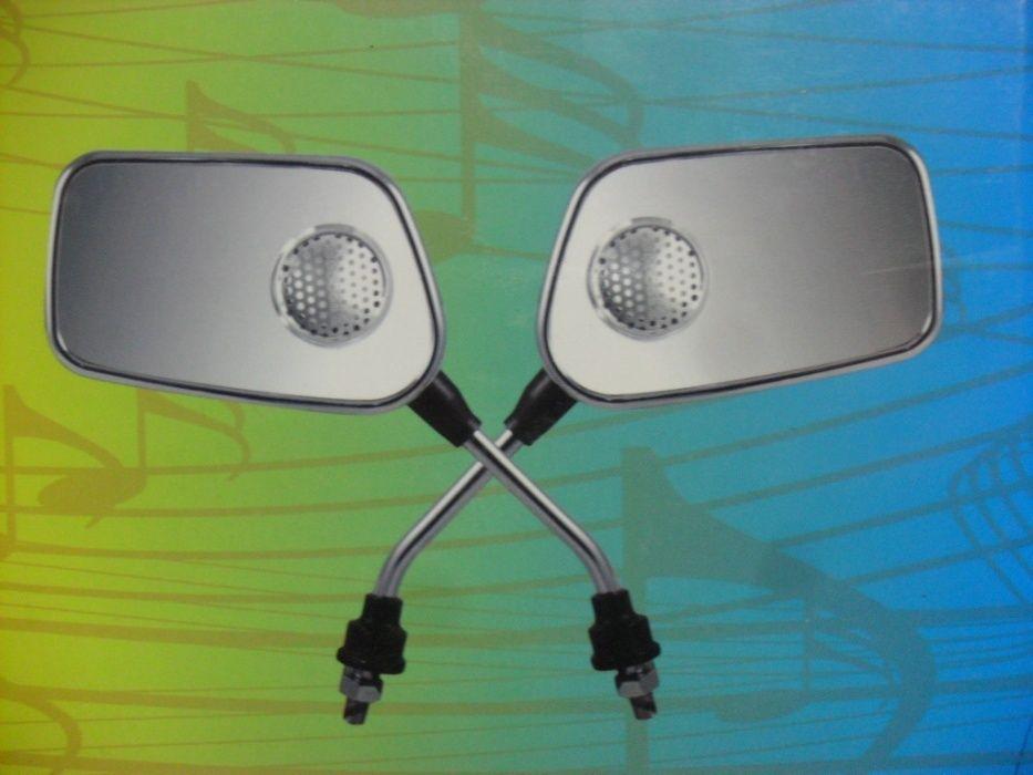 Огледала за скутер мотоциклет с вградена музика