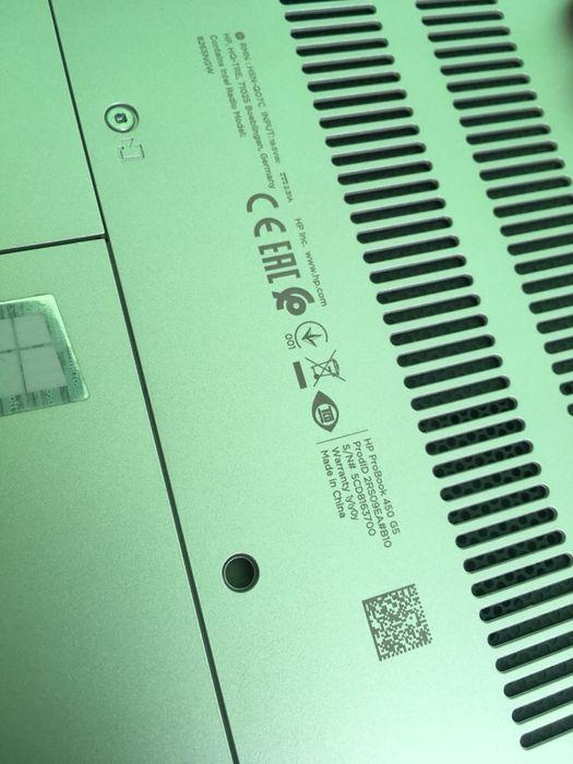Leptop Hp probook 450 G5