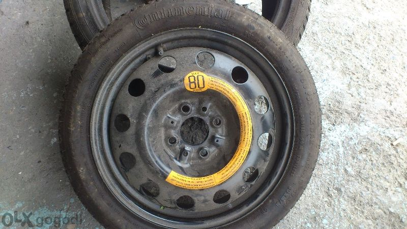 резервна гума зимна сас джанта Continental!!!