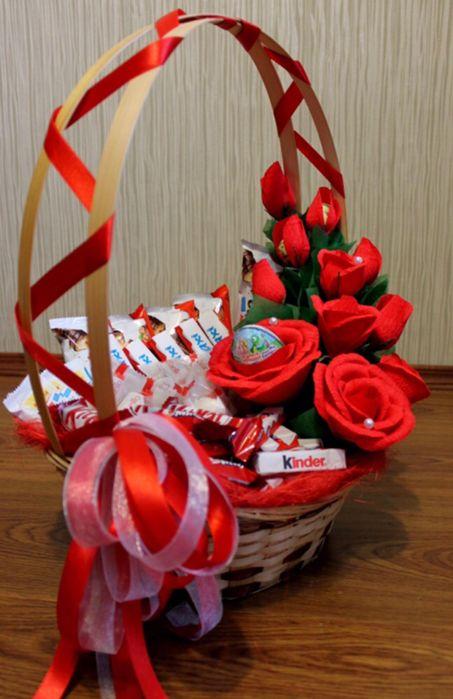 Корзины подарочные с киндерами! Астана - изображение 5